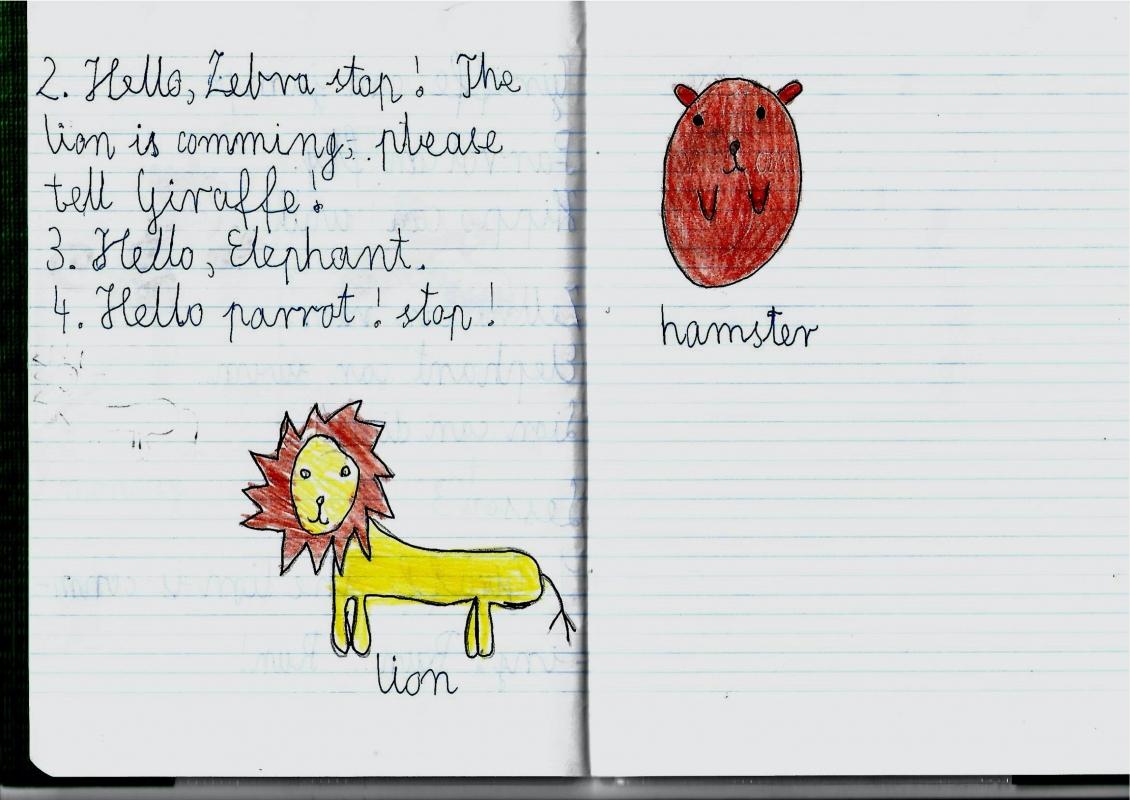 Laura-Brzóska-kl.1a-animals-zdania